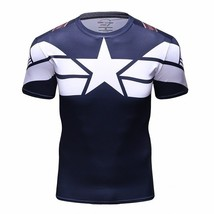 T-shirt Superhero 3D printing Men Civil War T Compression T Shirts Marve... - $18.00