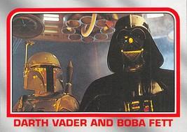 2004 Topps Heritage Star Wars #37 Darth Vader And Boba Fett > Bounty Hunter - $1.25