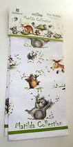Matilda Gumleaf Fun Tea Towel Ashdene 100% Cotton Koala Bear Kangaroo Os... - $14.84