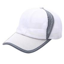 #5  Fashion  Summer Breathable Mesh Baseball Cap Men Women Sport Hats  - £7.90 GBP