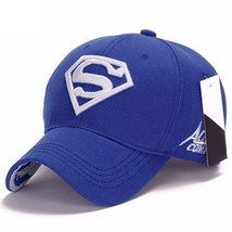 Men Women Unisex Snapback Adjustable Fit Baseball Cap Superman Hip-hop S... - $9.40