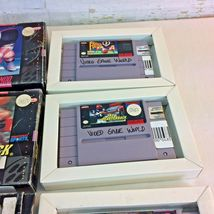 SNES Game Lot NFL Quarterback Club Monday Night Football Super Play Action Boxes image 3