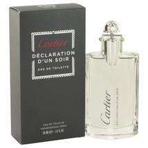 Declaration D'un Soir By Cartier For Men 1.7 oz EDT Spray - $52.40