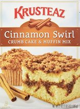 Krusteaz Cinnamon Swirl Crumb Cake & Muffin Mix - $8.86