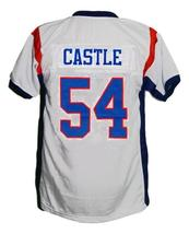 Thad Castle #54 BMS Blue Mountain State New Football Jersey White Any Size image 4