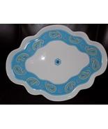 Vera Bradley My Home Bermuda Blue Andrea by Sadek dresser tray platter d... - $35.20