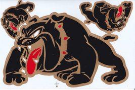 D452 Bulldog dog Sticker Decal Racing Tuning Size 27x18 cm / 10x7 inch - $3.49