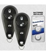 2 For 2009 2010 Subaru Forester Keyless Entry Car Remote Key Fob Transmi... - $39.55
