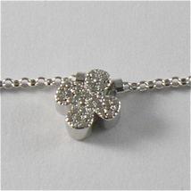 925 Silberne Halskette Jack&co mit Klee Herz Stern und Schmetterling 45 CM image 6