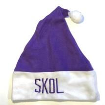 Minnesota Vikings US Bank Stadium NFL Football Winter Santa Christmas Hat  - $14.95