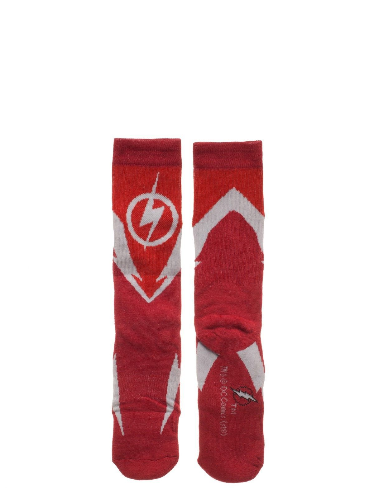 The Flash DC Comics 3 Pack Athletic Active Crew Socks Nwt