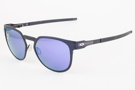 Oakley Diecutter Satin Black / Violet Iridium Polarized Sunglasses 4137-... - $147.51