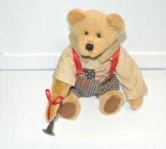"Boyds Bears 92000-08 ROSS G JODIBEAR  9"" bear Plush Stuffed Animal Tag - $22.72"