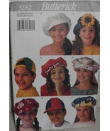 Butterick 3282 Sewing Pattern Accessories Girls Boys Size Small Medium L... - $10.00