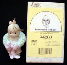 Precious Moments Ornament - Surrounded With Joy - Girl #531685 - $17.82