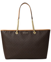 New Signature Jet Set Travel Chain Medium Top Zip Multifunction Tote Bag... - $238.99 CAD