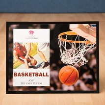 Magnificent basketball frame 4 x 6 from gifts by fashioncraft  - $8.99