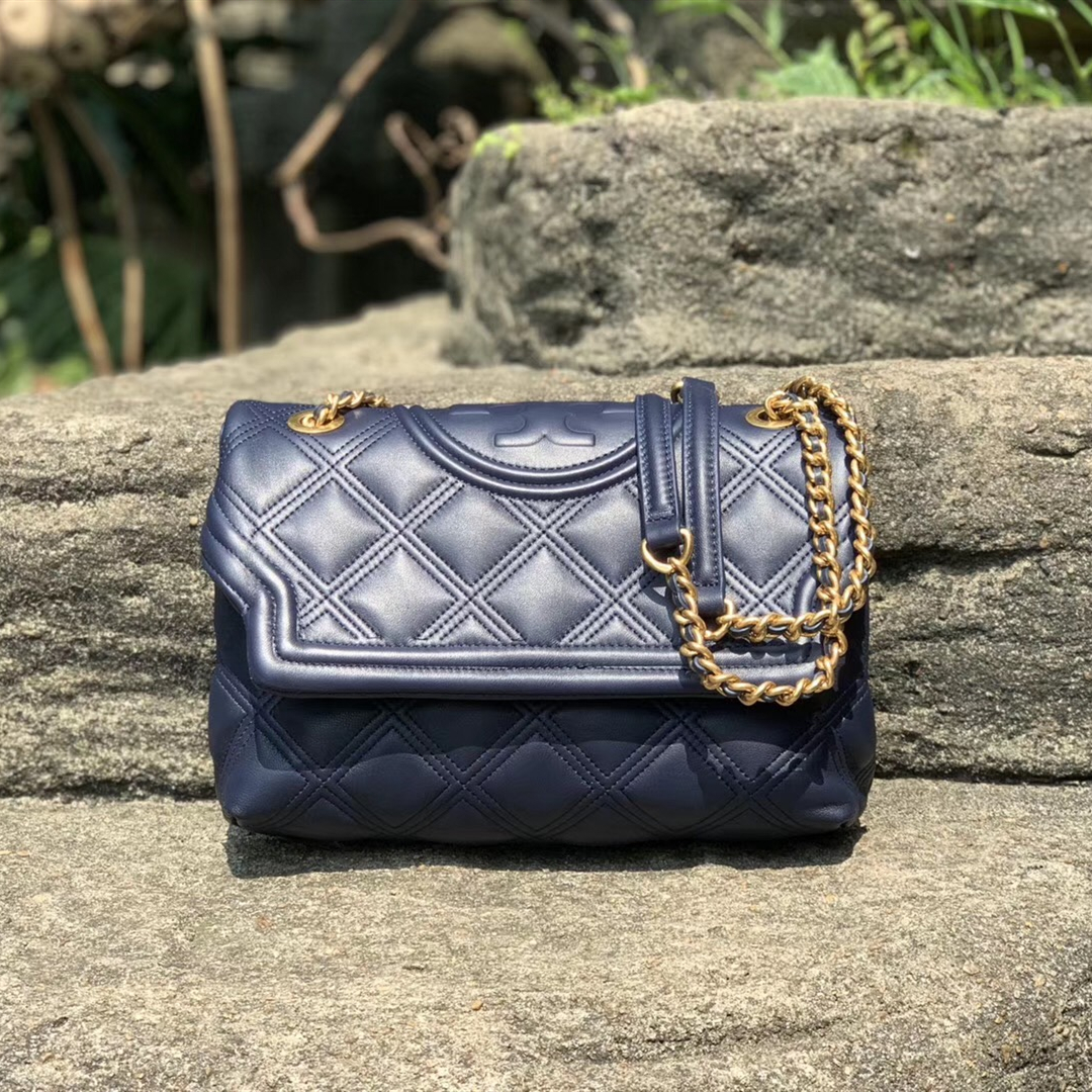 New Tory Burch Fleming Soft Convertible Shoulder Bag
