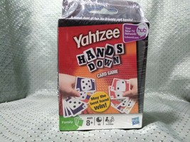 Life Adventures And Yahtzee Hands Down Card Game 2 Pack - $14.75