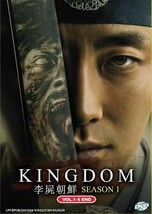 Korean Drama Kingdom Season 1 DVD Vol.1-6 End 2019 English Sub Ship From USA