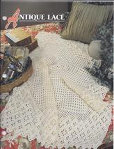 Annie's Antique Lace Afghan Crochet Pattern - $5.50