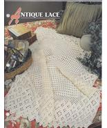Annie's Antique Lace Afghan Crochet Pattern - $5.50