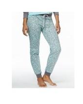 Fleece Jogger Pajama Pants Leopard Hearts Jenni by Jennifer Moore Size 2... - $19.95