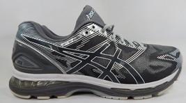 Asics Gel Nimbus 19 Size US 12.5 2E WIDE EU 47 Men's Running Shoes Silver T701N