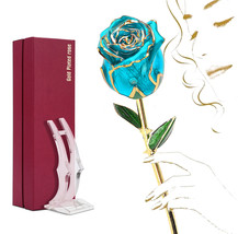 24k Gold Dipped Rose,Present for Valentine's Day/Anniversary,Gifts for H... - $56.99