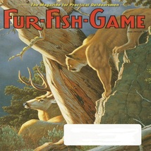 Fur-Fish-Game US 2015.06 Magazine Back Issue - $3.00