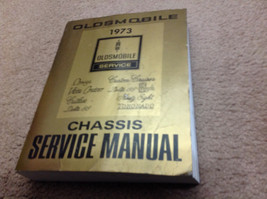 1973 Oldsmobile F85 CUTLASS 442 VISTA DELTA TORNADO 88 Service Shop Manual OEM image 1