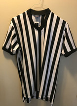 Dalco Athletic Referee Shirt Adult Medium Game Play Black White - $14.85