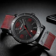 Men Watch Men's Quartz Wristwatches 2019 CURREN Male Clock Top Brand Luxury Leat - $37.11