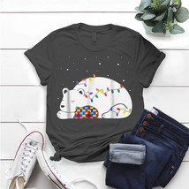 Autism Awareness Mama-Bear Autism Mom Christmas Womens T- Shirt Birthday... - $15.99+