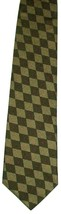 "Structure Men's Silk Neck Tie Brown Tan Red Diamond Geo Necktie 55.5"" - $7.99"