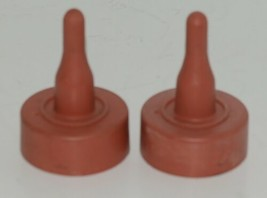 Miller Manufacturing Company Snap-On Lamb Nipple Red Rubber Package 2 image 1