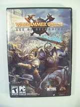 Warhammer Online Age Of Reckoning Pc Dvd Rom - $8.77