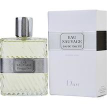 EAU SAUVAGE by Christian Dior EDT Men Eau De toilet Perfume SPRAY 3.4 OZ - $172.54