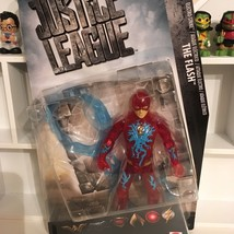 "Flash Electro Strike 6"" inch DC JUSTICE LEAGUE MOVIE ACTION FIGURE Matte... - $20.28"