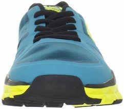DC Shoes Hommes 'S Unilite Flexible Baskets Bleu Jaune Course Chaussures Nib image 3