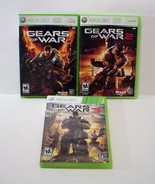 Gears of War 1 2 3 Microsoft Xbox 360 Lot - $17.99