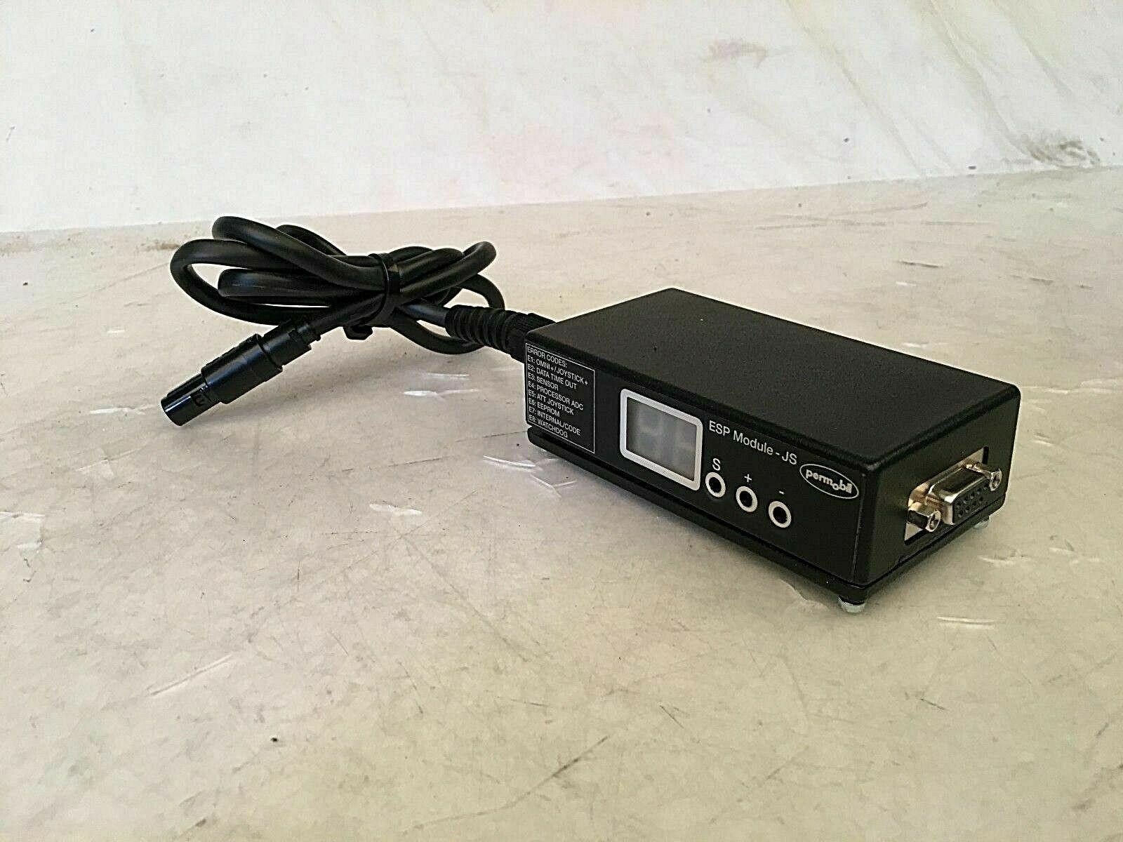 Permobil C500 -  ESP Module-JS - Error Code Reader - For Power Wheelchairs