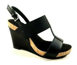 Aerosoles Plush Behind Gold High Wedge T-strap Sandals  - $55.20