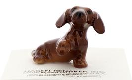 Hagen-Renaker Miniature Ceramic Dog Figurine Dachshund Pup Standard - $6.49