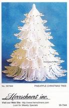 Pineapple Christmas Tree, Herrschners Crochet Pattern Instructions 99-7944 - $6.95