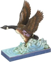 Canada Goose Out of Water Jim Shore Retired Figurine Nature's Wonders Soar - $44.50