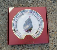 Lenox 2011 Annual Holiday Tree Collector Plate Chili Christmas - $25.73