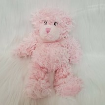 "12"" First Impressions Pink Furry Bear Soft Plush Stuffed Toy Lovey Macys B217 - $12.99"