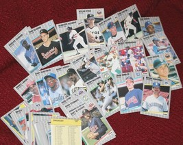 1989 Fleer MINT STARS Vintage Card Lot 80+ M Cards NO DOUBLES - $5.55