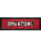 Personalized Davidson College Campus Letter Art Framed Print - $39.95